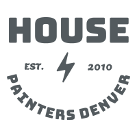 House painters Denver in grey with a lightning bolt